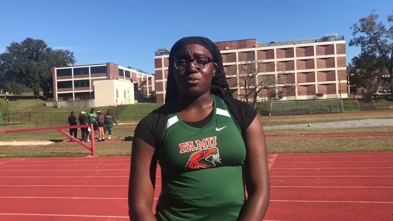 WATCH: Rattlers sophomore Taylor Gorum discusses her joy for the onset of indoor season. Gorum competes in the discus, shot put and hammer throw.