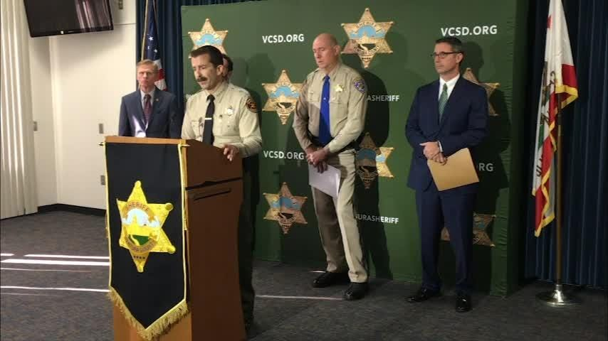Full video of Friday's press conference: Investigation confirms that a deputy shot at Borderline in November was killed by a bullet from a CHP rifle.