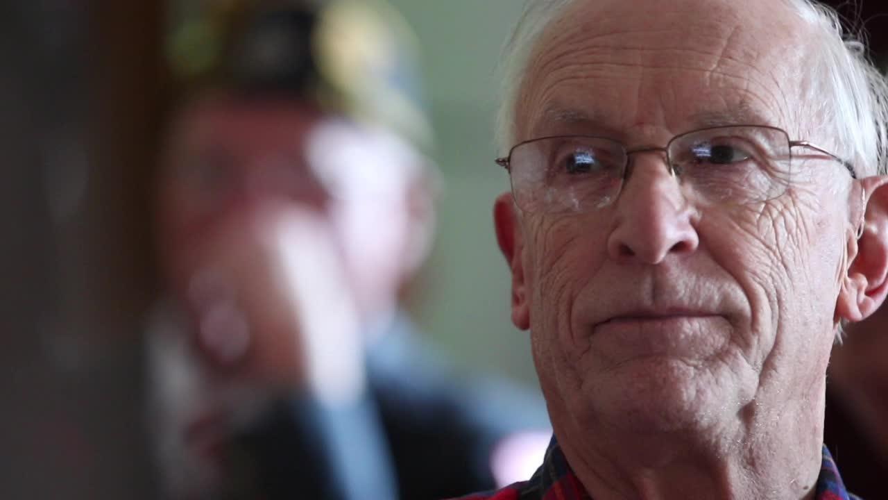 Members of American Legion Ladwig-Zinkgraf Post 243 held a ceremony Friday that remembers Pearl Harbor.