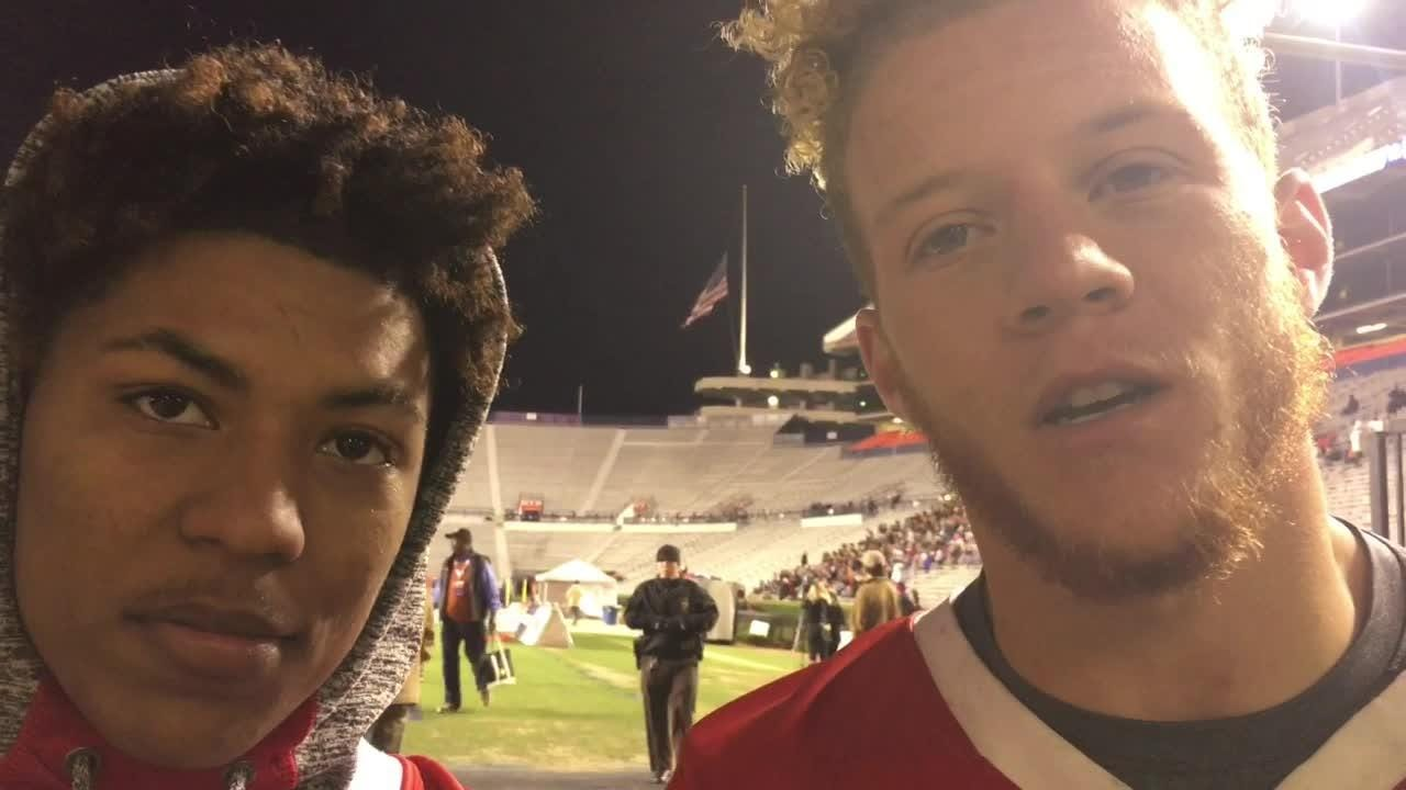 Luverne seniors Ellian Harris and Tae Brantley say the Tigers accomplished a lot this year, though they fell short of a state championship.