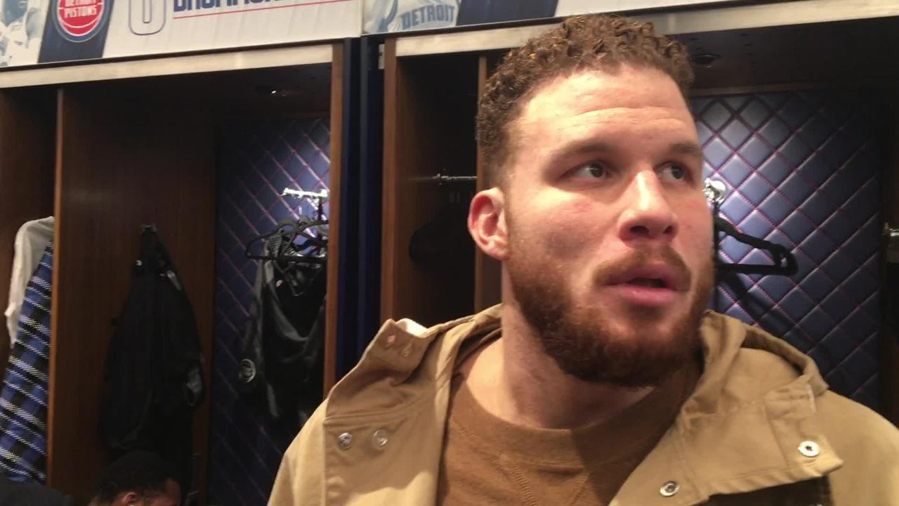 Blake Griffin says Detroit Pistons' lack of focus is an issue in 3-game losing skid.
