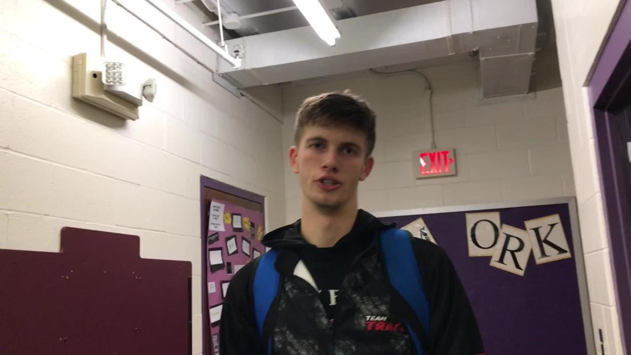 Unioto had won 69 straight SVC games, until Friday when Zane Trace defeated them 69-50. Nick Nesser discusses the win after scoring 20 points.