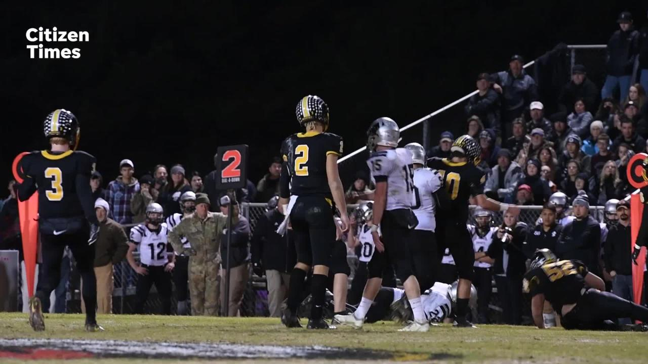 Murphy hosted Robbinsville in the 1A West regional final on Dec. 7, 2018.