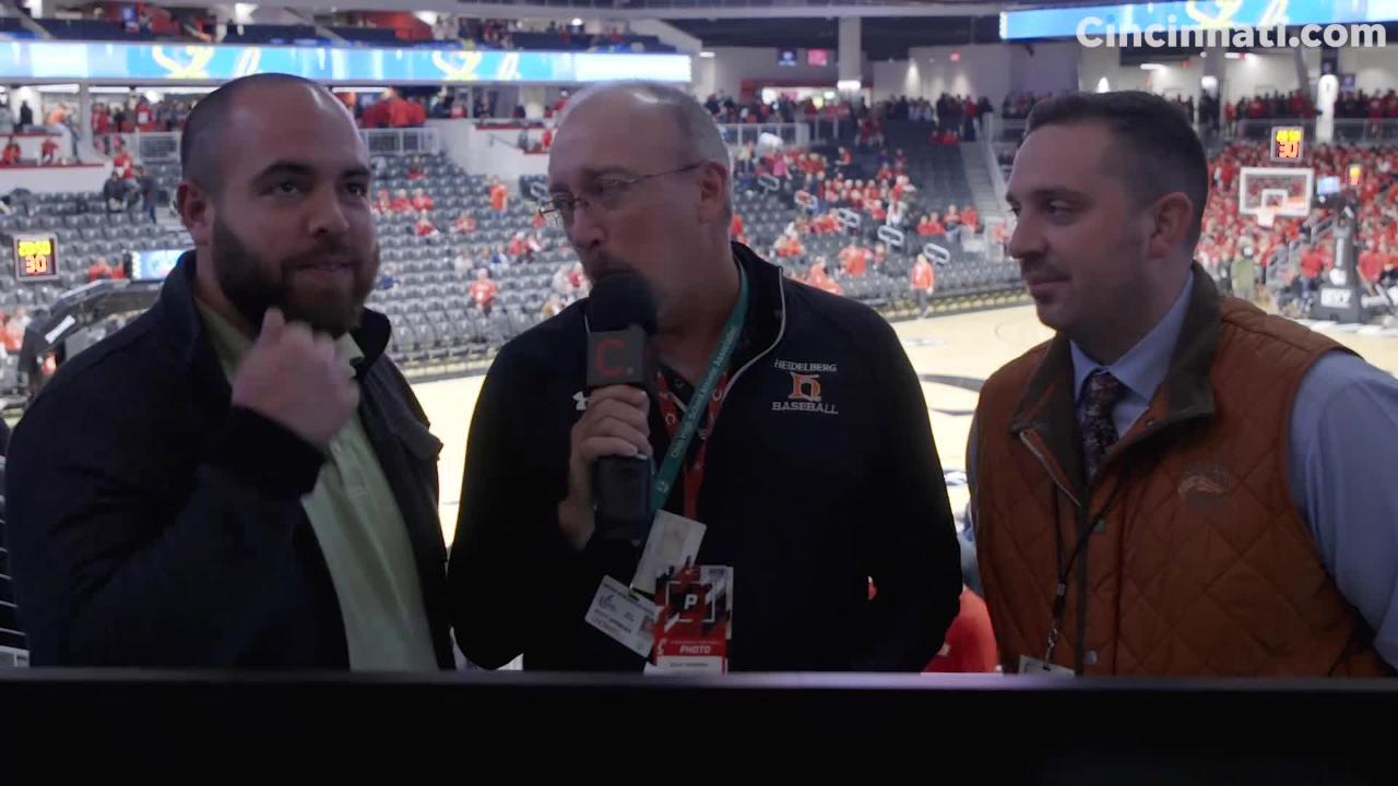 Pat Brennan, Scott Springer and Adam Baum discuss the UC Xavier game.