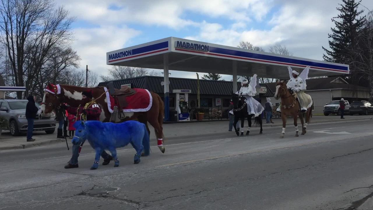 Horses parade through Lexington