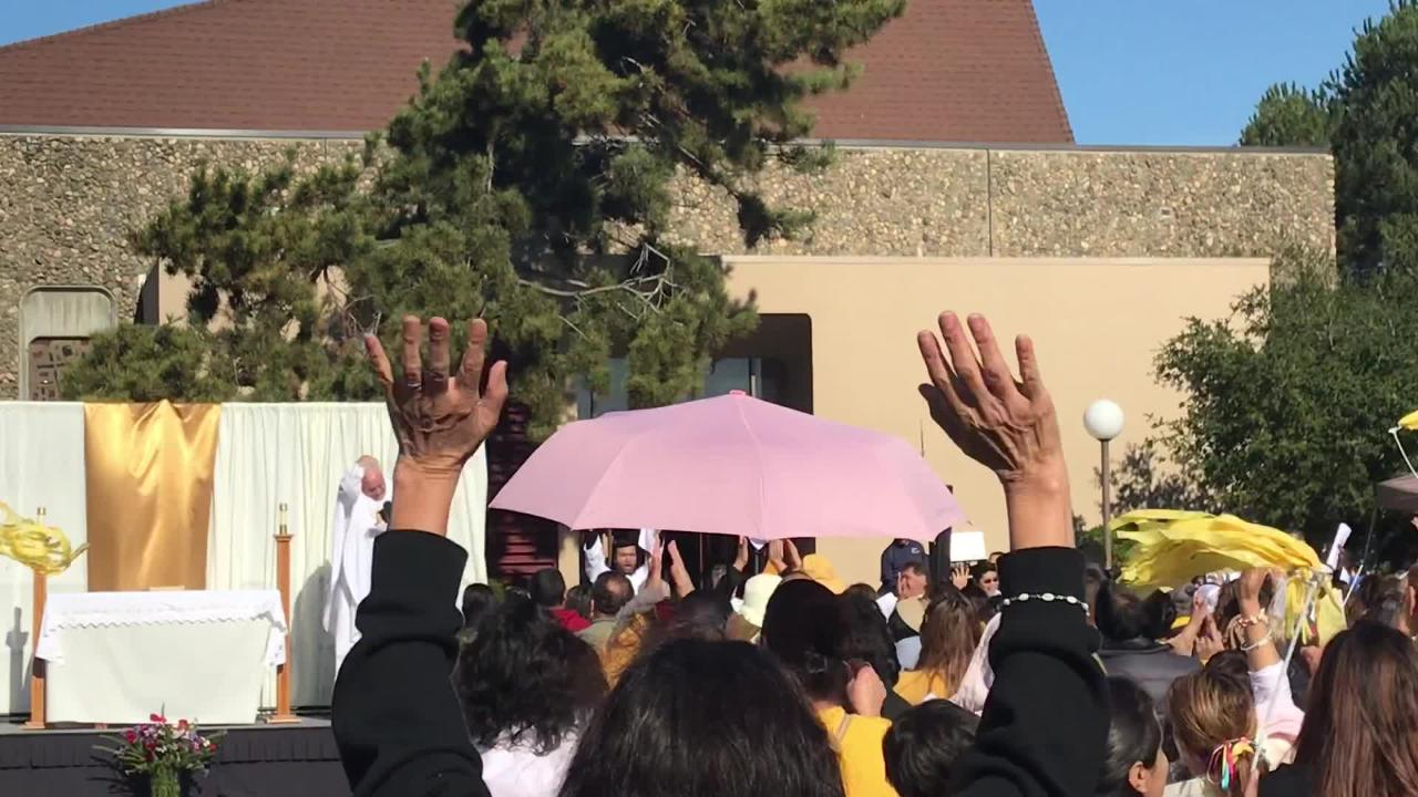 RAW VIDEO: Salinas celebrates Our Lady of Guadalupe Saturday with mass, festivities