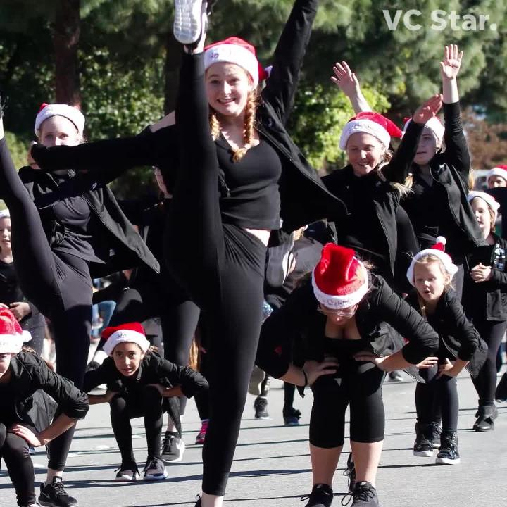 Camarillo held Christmas festivities that included a parade, a 5K run, Santa's Village and more. Here's a look at what happened.