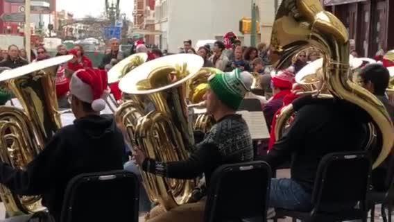Tuba Christmas.Tuba Christmas In El Paso