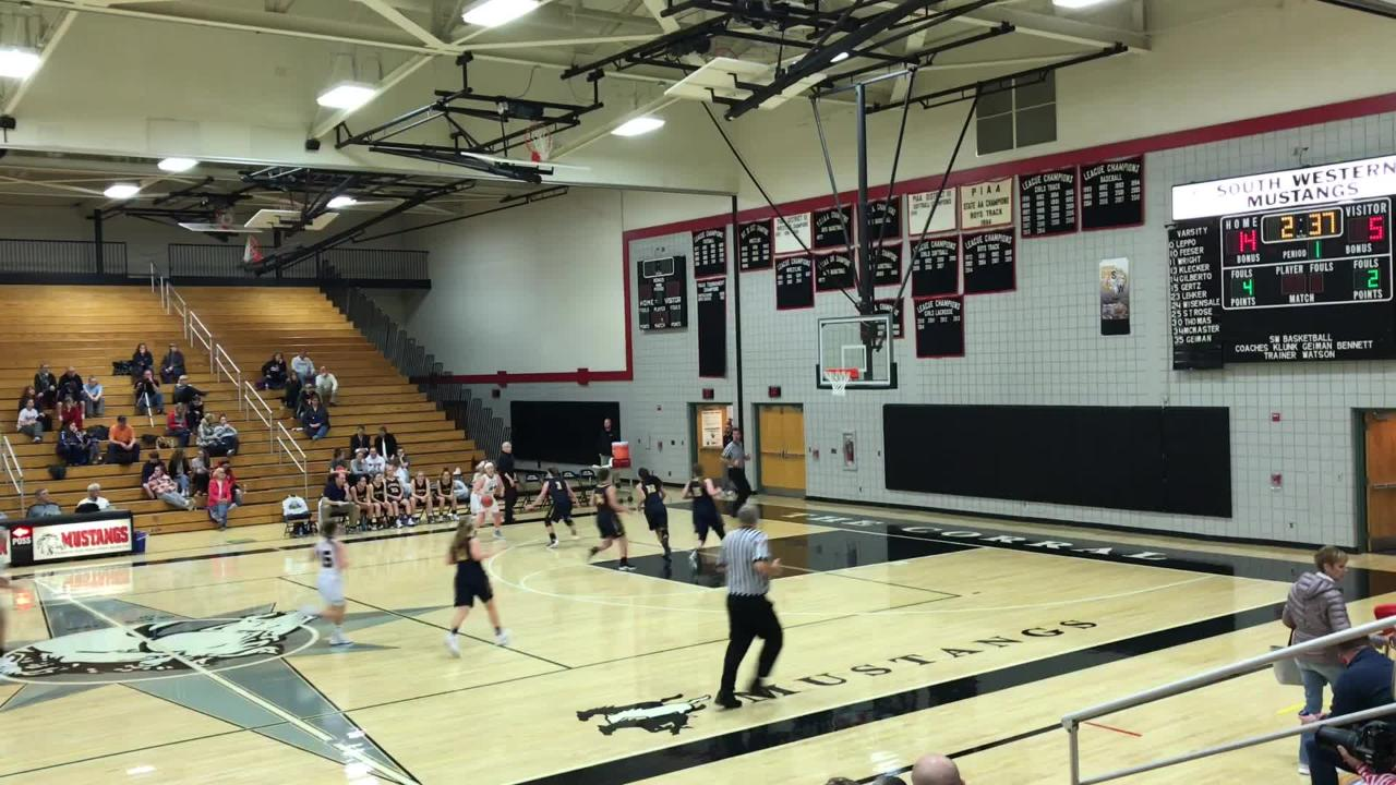The Mustangs rebounded from a loss on day one of the Southern Border Shootout to beat the Bolts 63-22 in a consolation game on Saturday night.
