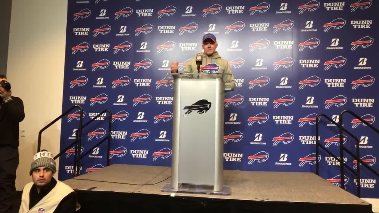 Sean McDermott said the Buffalo Bills didn't take care of the football or play well on special teams in their 27-23 loss to the Jets.