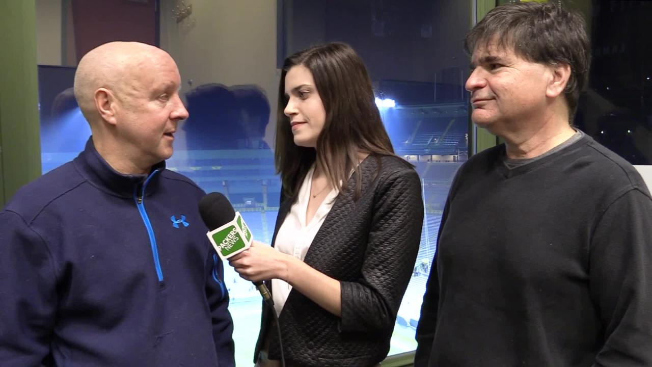 Pete Dougherty, Olivia Reiner and Tom Silverstein discuss the Packers' mathematical playoff chances following their win against the Atlanta Falcons.