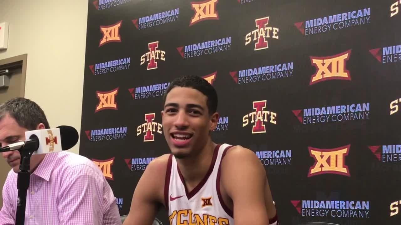 Freshman Tyrese Haliburton breaks 44 year old Iowa State assist record, with 17 against Southern
