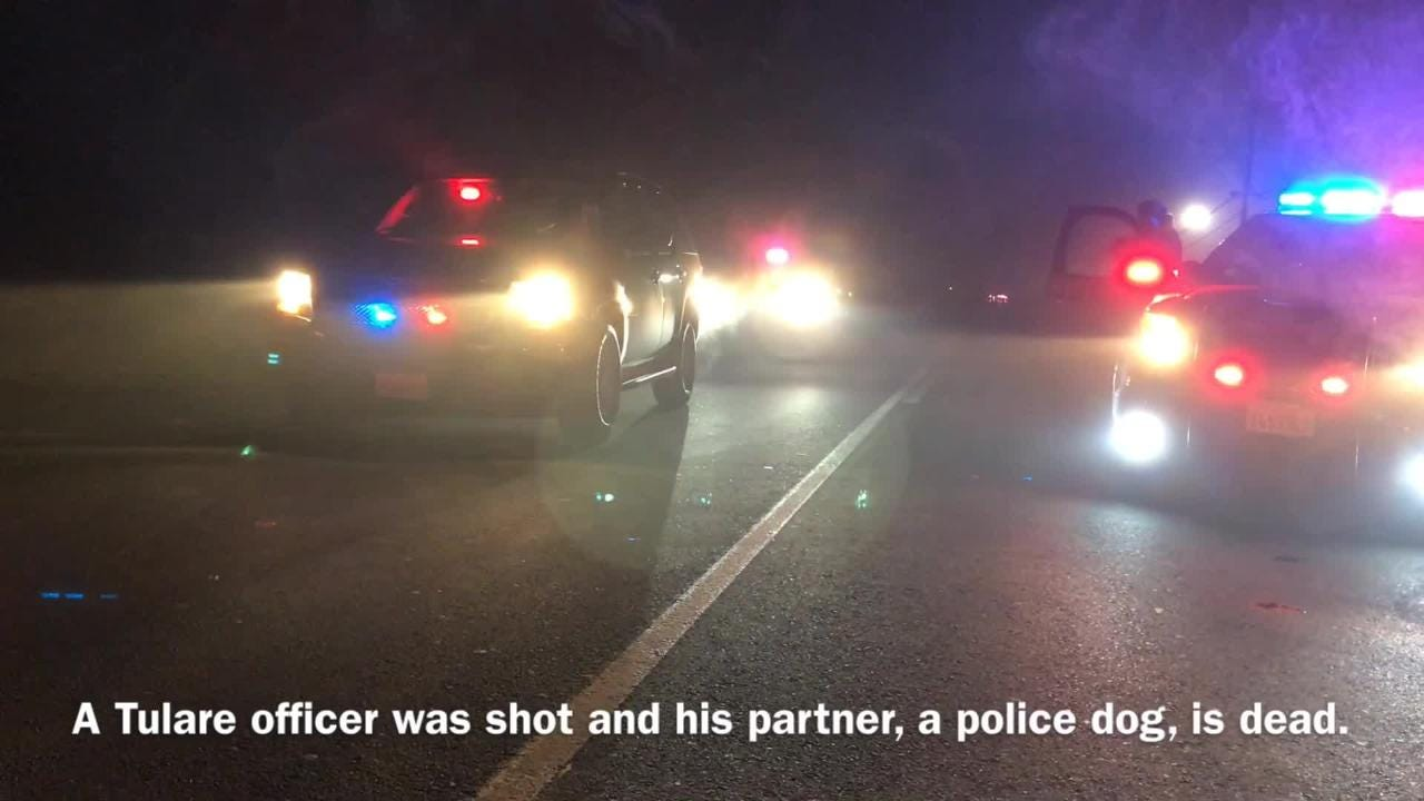 Officers are investigating a fatal officer-involved shooting in Tulare.
