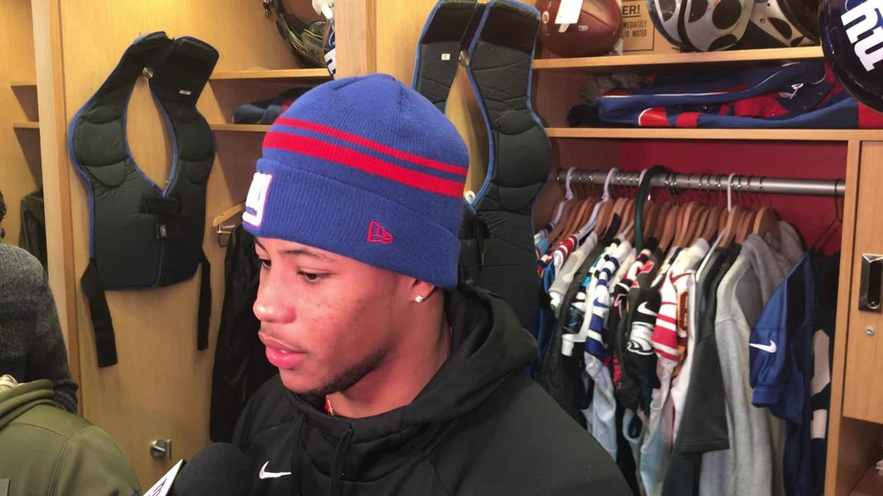 Saquon Barkley finishes 3rd in NFL Pro Bowl fan voting behind Drew Brees aec2009f9