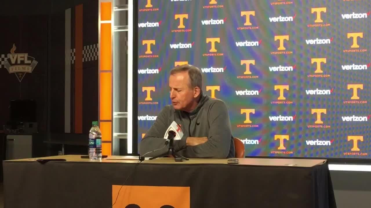 Tennessee coach Rick Barnes reflects on the Vols' 76-73 victory over Gonzaga.