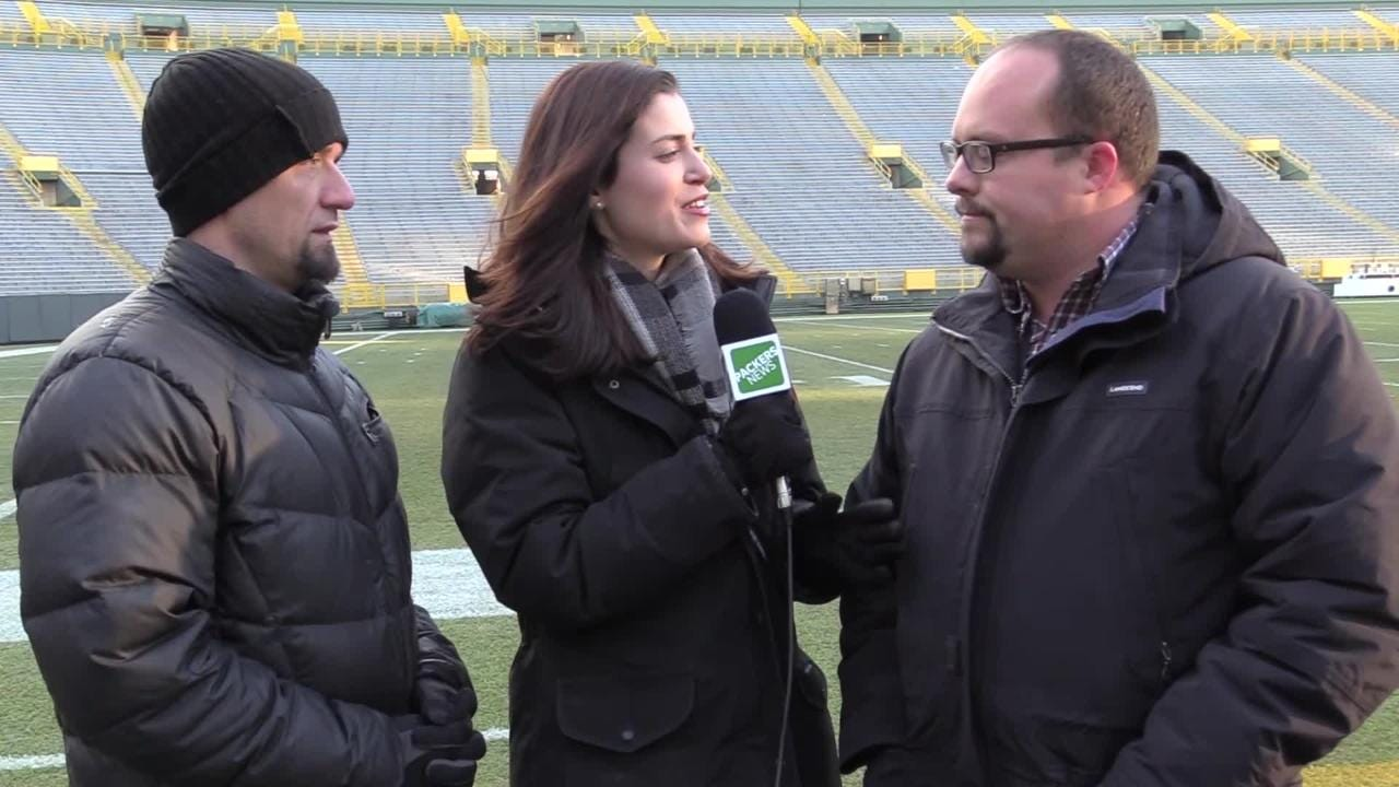 Jim Owczarski, Olivia Reiner and Ryan Wood discuss the Packers' defense's 'turnover cage' and Philbin's offensive play calling against Atlanta.