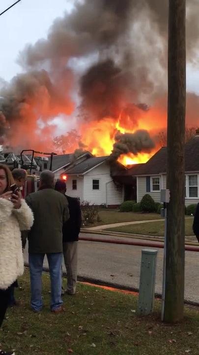 Quincy Fire Department fights Highland Avenue house fire