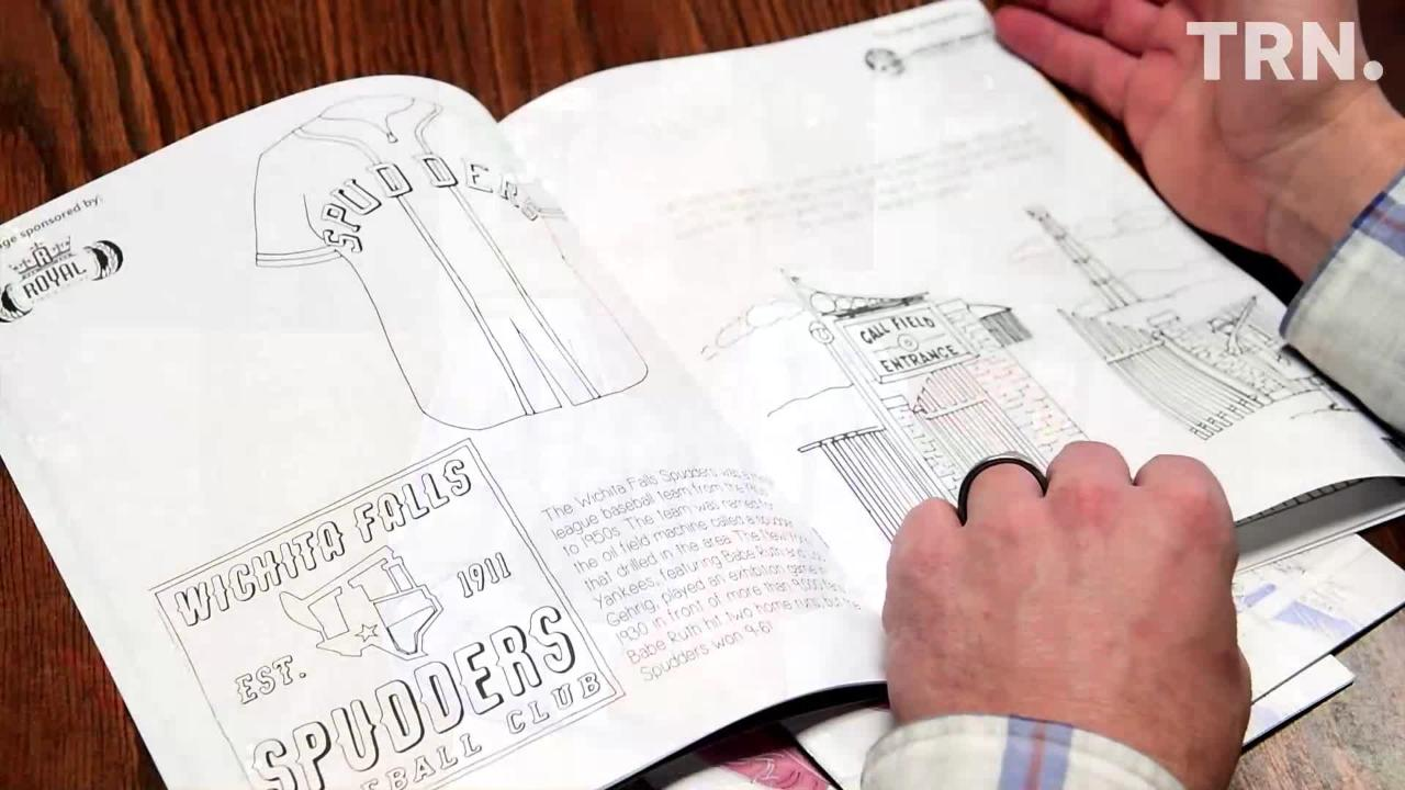 Nicholas Schreiber helped create a coloring book full of local history.