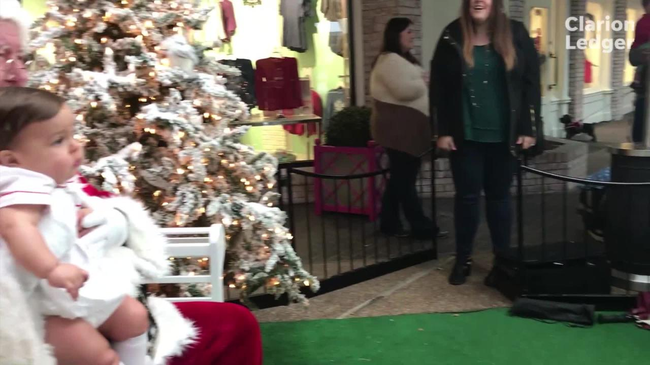 Santa Clause has made his yearly rounds at Highland Village for 15 years. Take a look at what St. Nick's day is like.