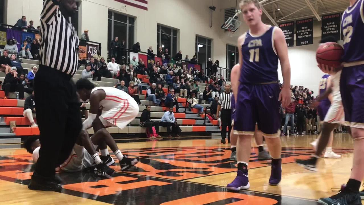 Ensworth's boys basketball team captured an 81-49 win over Christ Presbyterian Academy on Tuesday.
