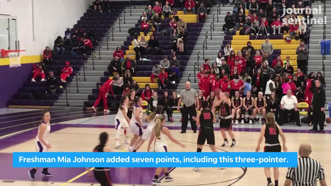 South Milwaukee's girls basketball team improved to 4-1 with a 49-33 victory at Cudahy Tuesday.