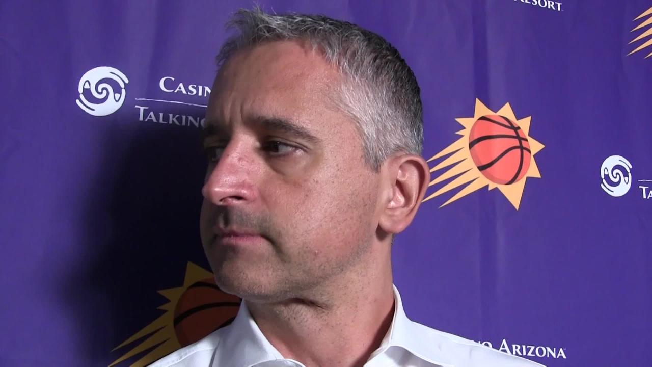 Phoenix Suns first-year coach Igor Kokoskov talks about his decision to rest Trevor Ariza after vet played 40 minutes in Tuesday's loss at San Antonio.