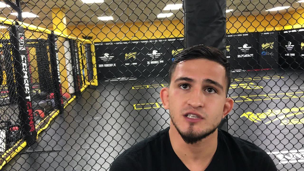 Milwaukee native Sergio Pettis discusses his upcoming fight at the MMA scene at Roufusport Academy.