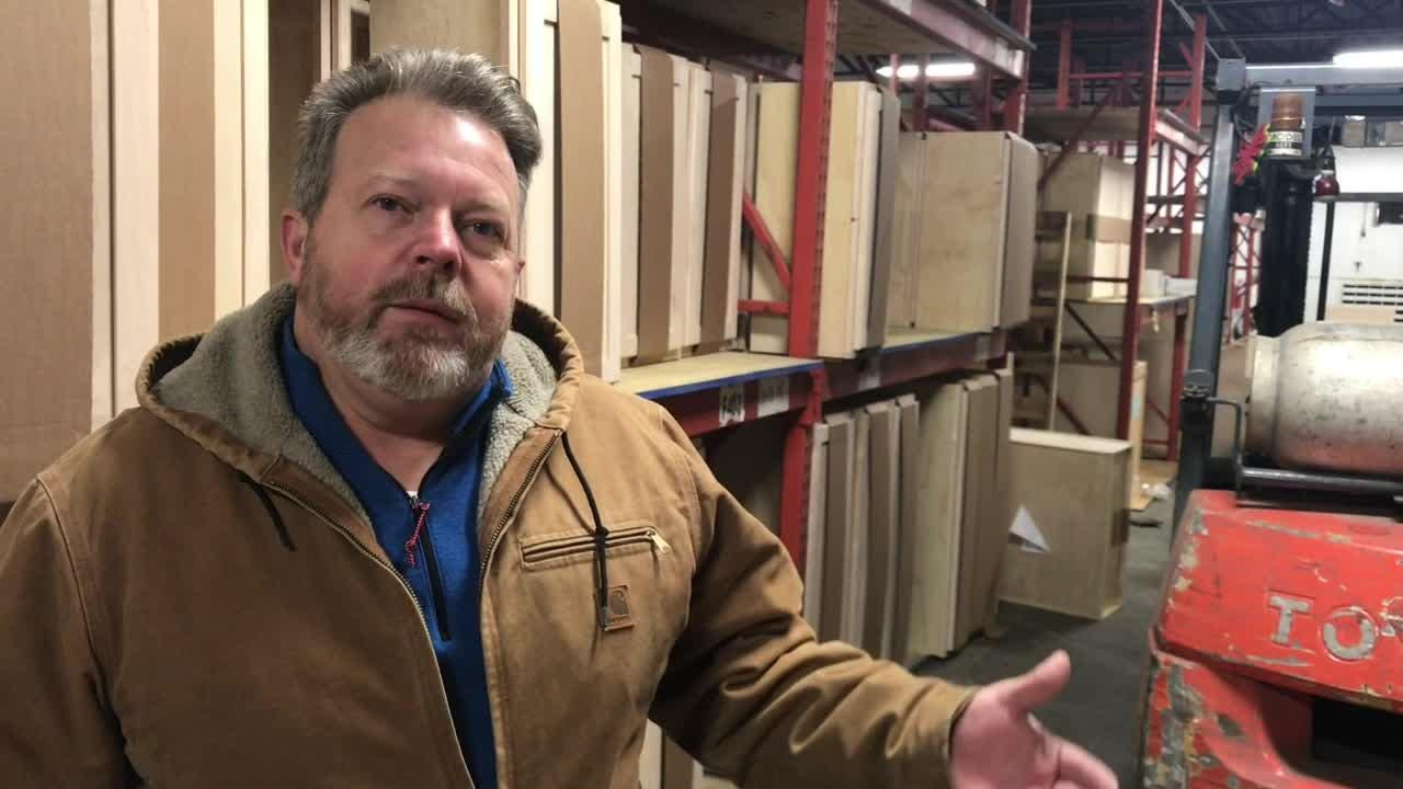 Knox Rail Salvage vice president Joel Piper discusses the company's new Fountain City location. Their East Jackson Ave. location was purchased by Randy Boyd.
