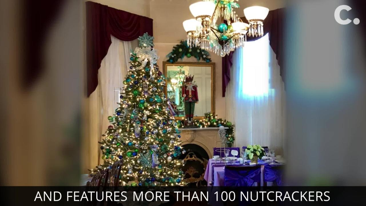 Each room of the Victorian mansion is decorated in a Nutcracker theme. The open house is Dec. 15-16 and extended hours Dec. 17-21.