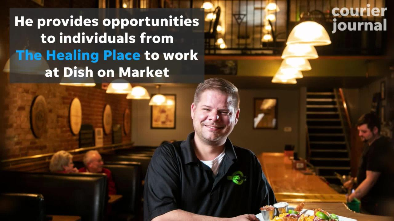 Dish on Market owner focuses on the bottom line of the Louisville restaurant but not at the expense of being part of a caring, responsive community.