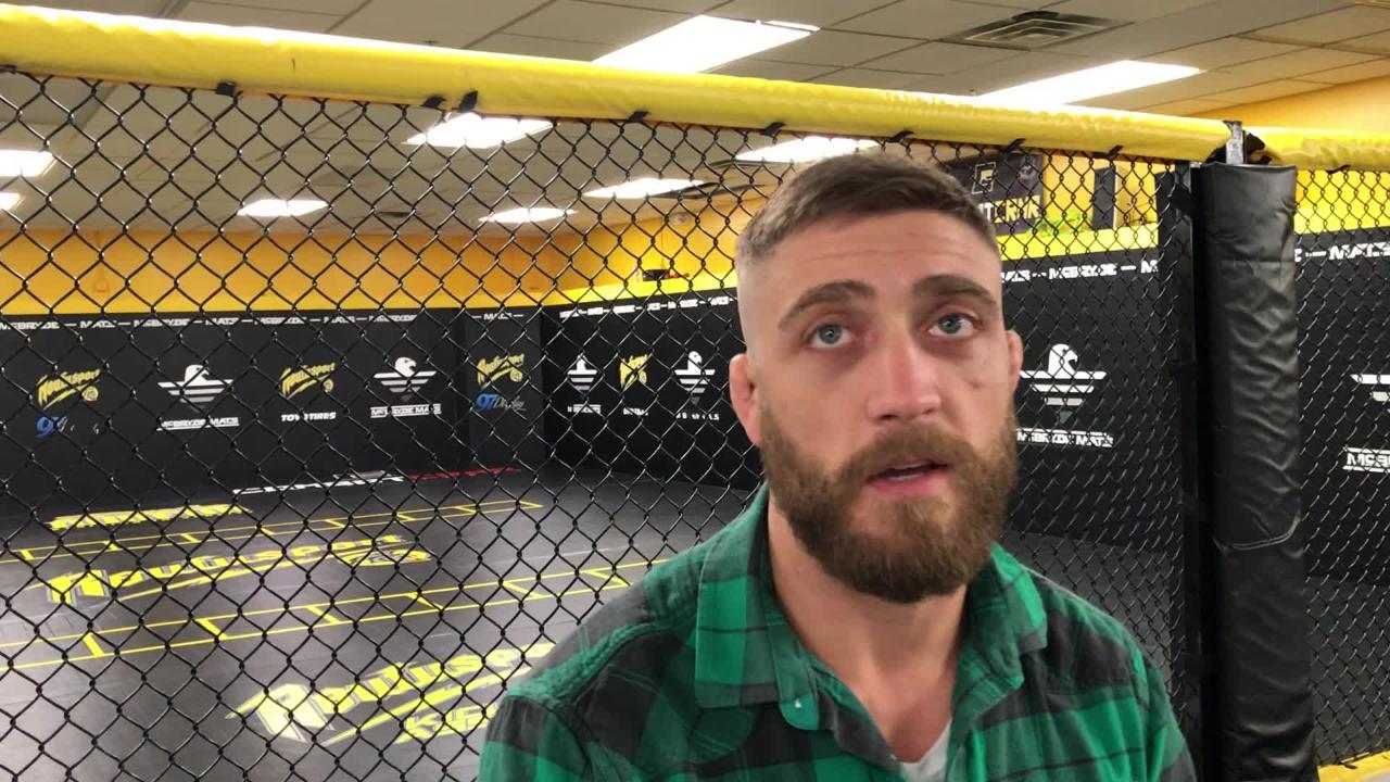 Gerald Meerschaert, a Racine native, will compete at Fiserv Forum in a UFC match Dec. 15.