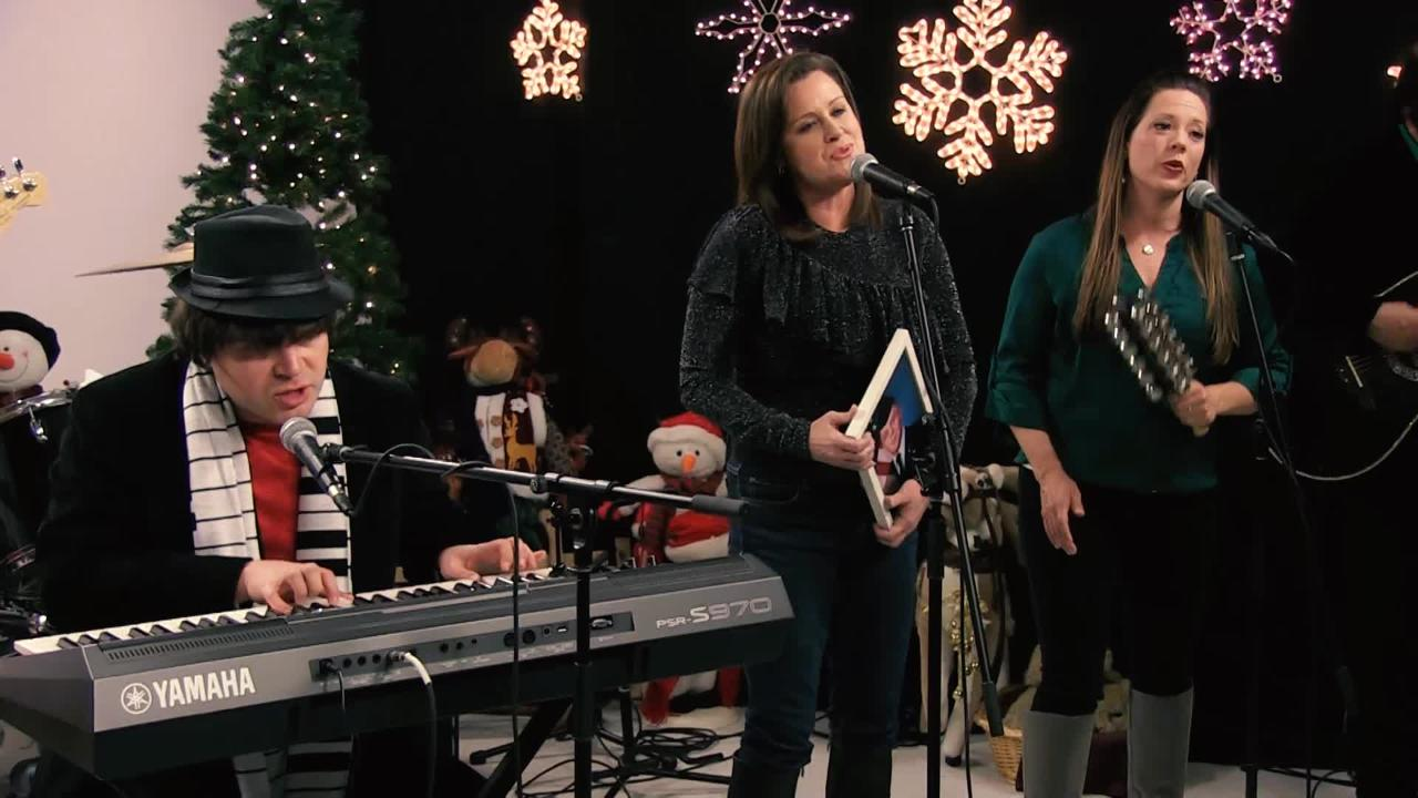 """The Eric Look Band performs """"Christmasing With You"""" in the Tap Milwaukee studios."""
