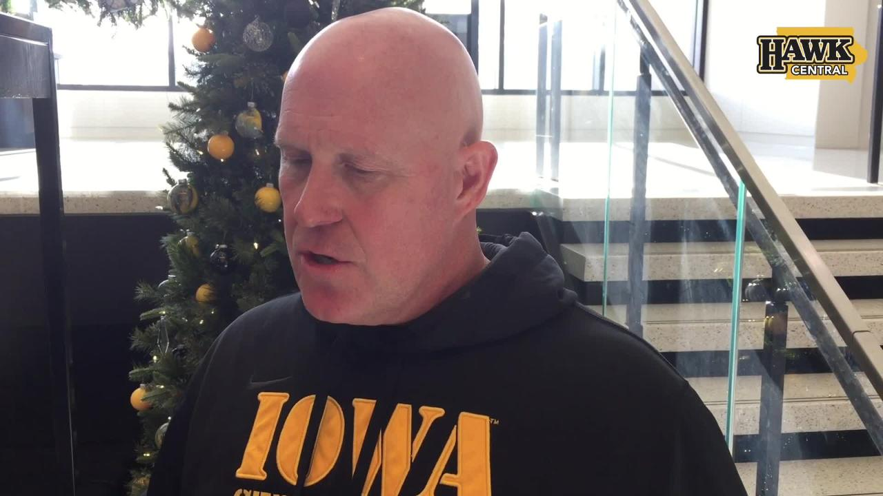 Iowa strength and conditioning coach Chris Doyle sees a big benefit for younger players when the Hawkeyes reach a bowl game.