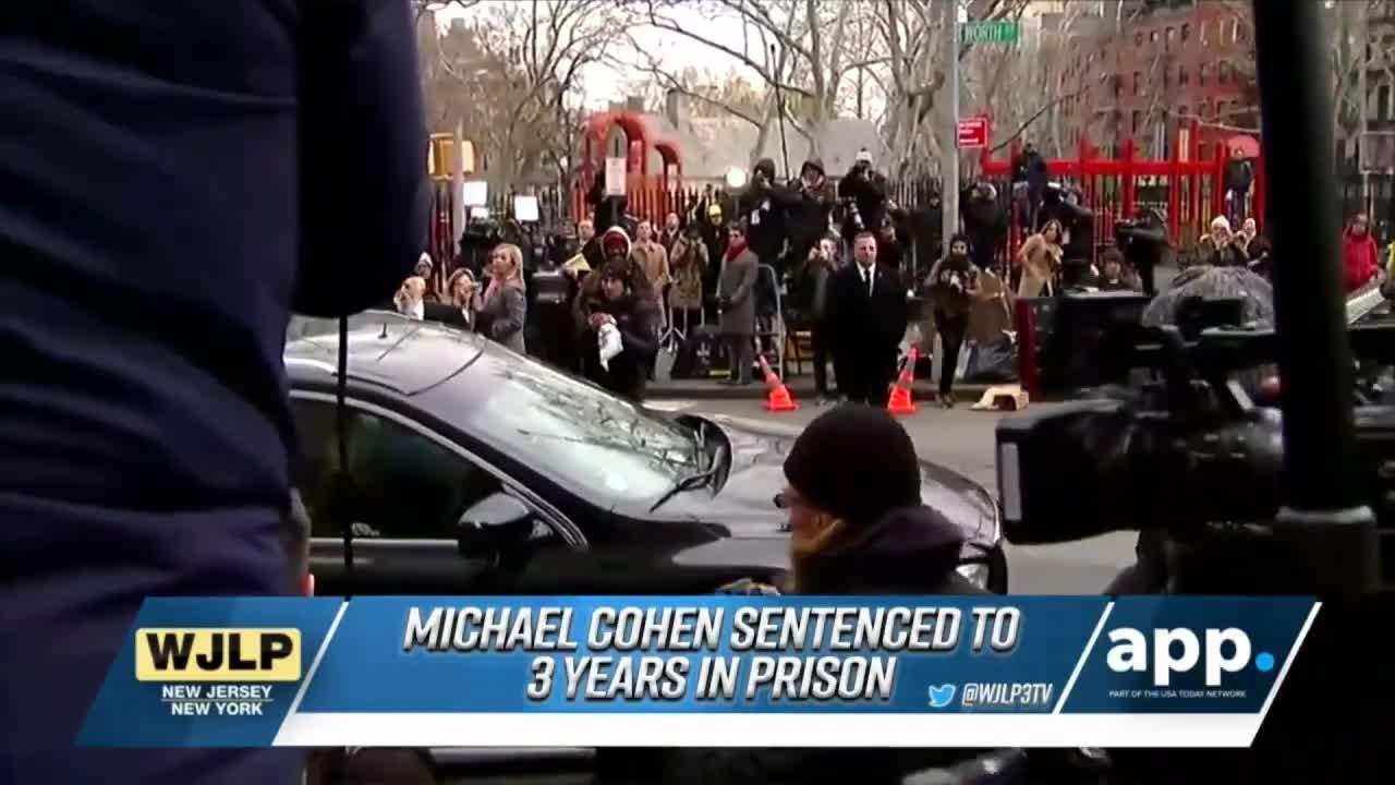 Michael Cohen sentenced to prison; Fatal shooting in Bogota, NJ