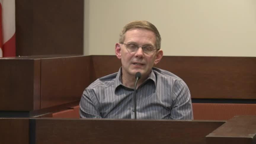Nick Williams, brother of Mike Wiliams, testifies in court