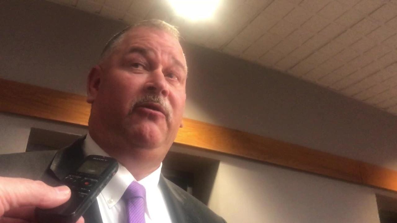 Tenth Circuit solicitor David Wagner speaks after the Jesse Osborne hearing on Wednesday, Dec. 12, 2018. Osborne plead guilty during the hearing.