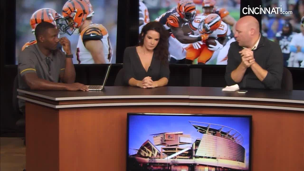 Lindsay Patterson and Paul Dehner Jr. play Player Password with Bengals' Shawn Williams on this week's episode of Beyond the Stripes.