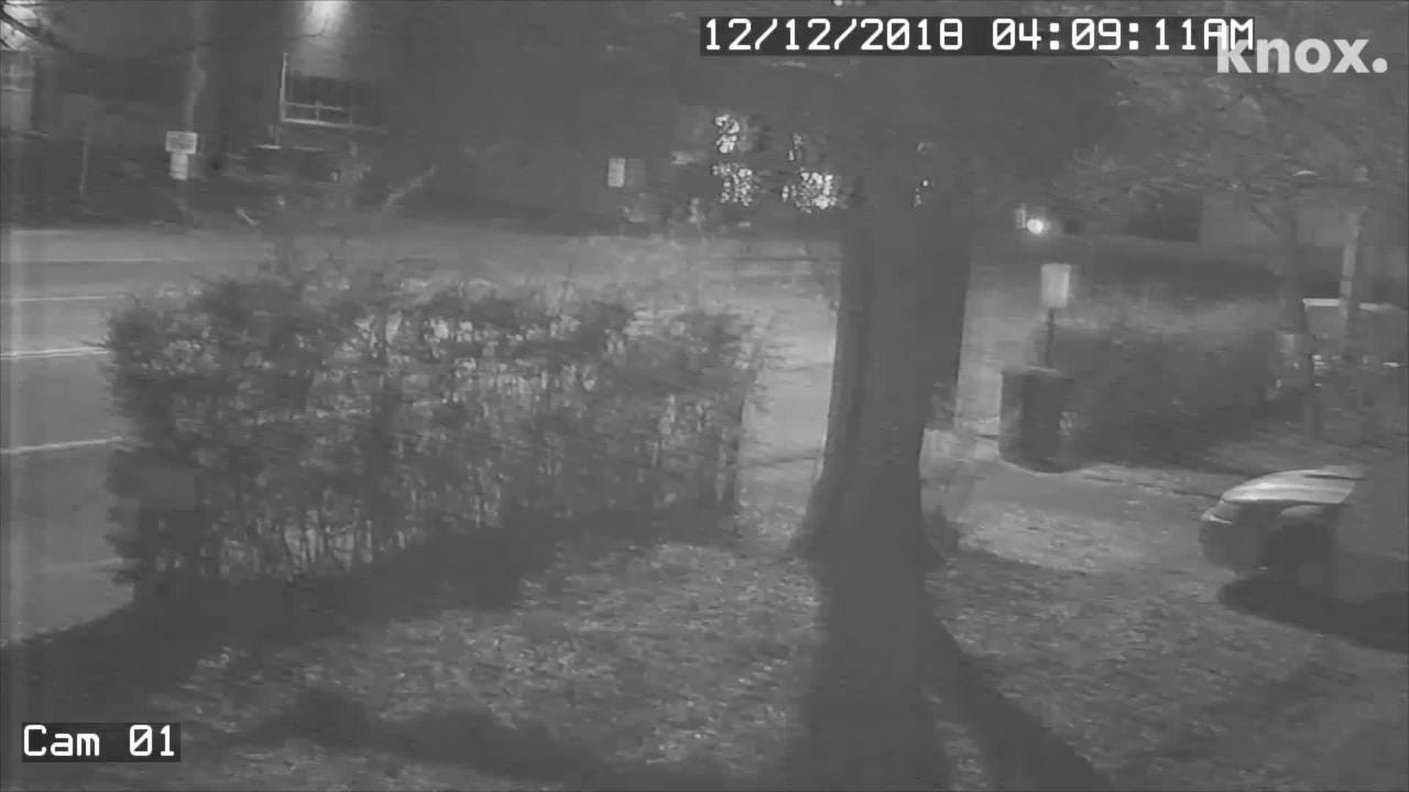 The earthquake in Decatur, TN on Dec. 12, 2018 was captured on a surveillance camera from a Dayton, TN residence.
