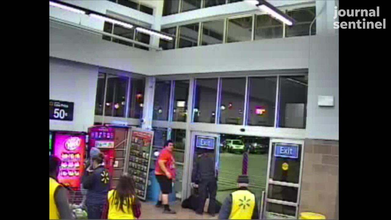 A would-be retail thief in Greenfield was thwarted after an innocent bystander stepped in and tackled the suspect.
