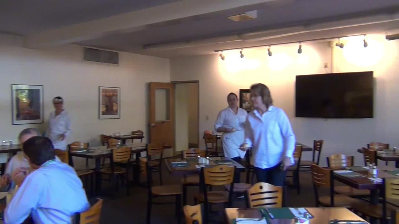 Shasta College marketing manager Peter Griggs talks about The Bistro at Shasta College, which serves up gourmet meals while teaching cooking classes.