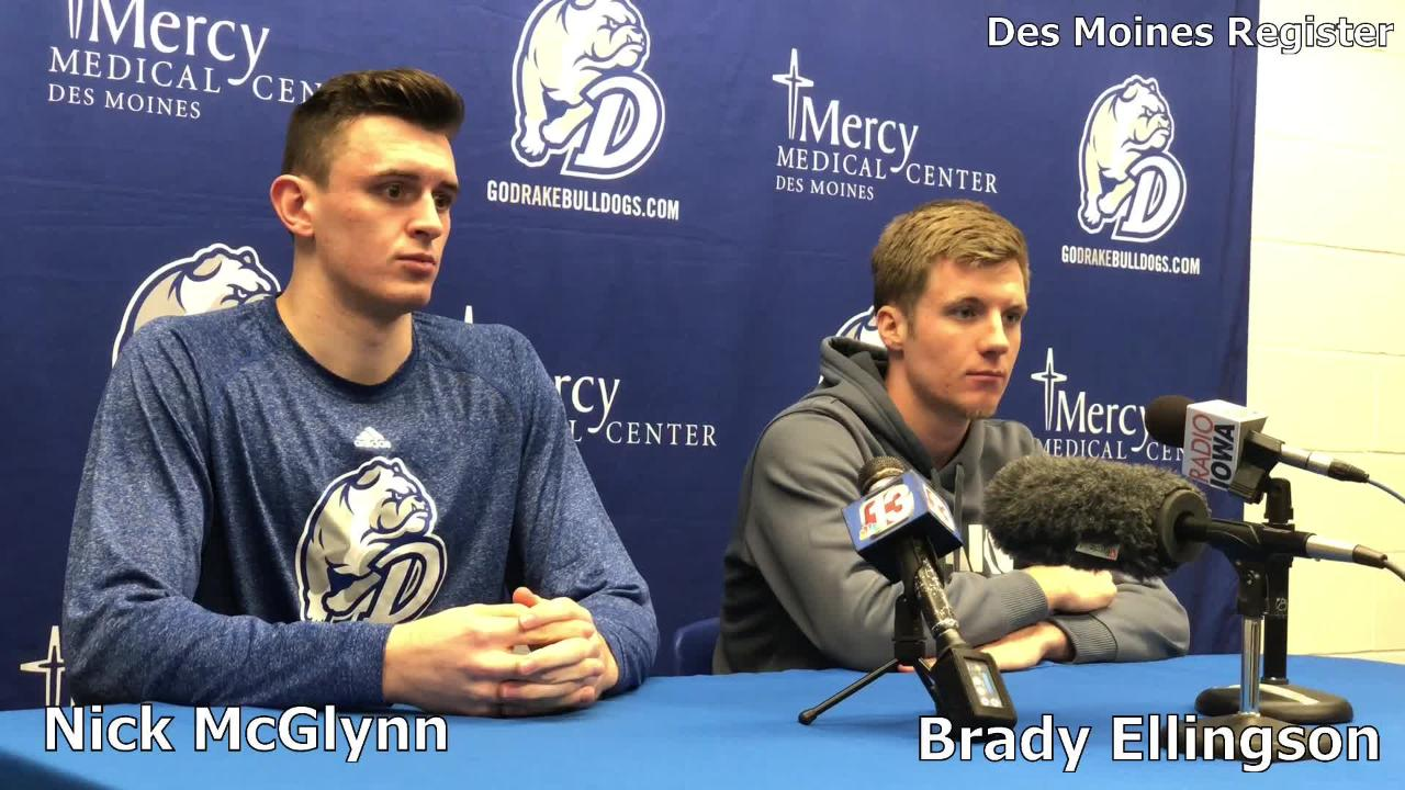 Nick McGlynn and Brady Ellingson talk about playing in the Hy-Vee Classic against Iowa State on Saturday.
