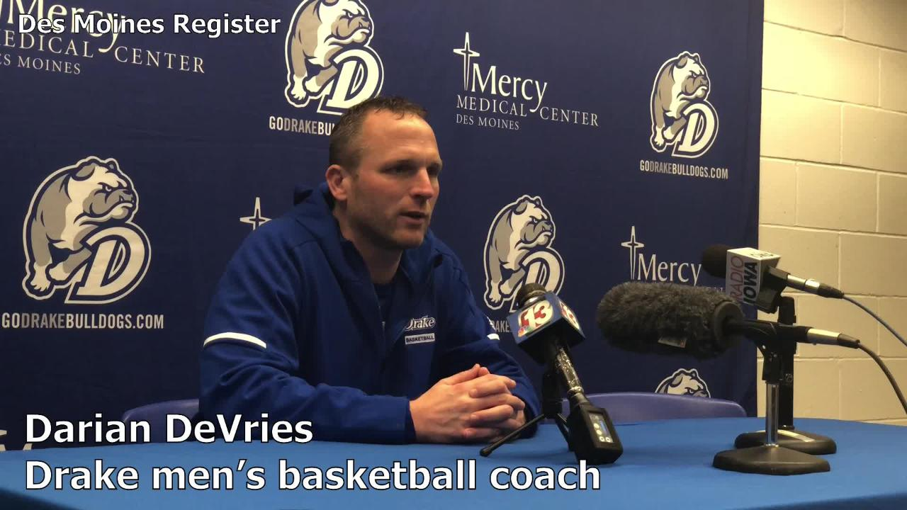 Drake men's basketball coach Darian DeVries believes Saturday's game against Iowa State will tell him a lot about his Bulldogs.