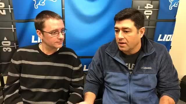 Free Press sports writers Dave Birkett and Carlos Monarrez preview the Lions' game against the Bills. Recorded Dec. 13, 2018.