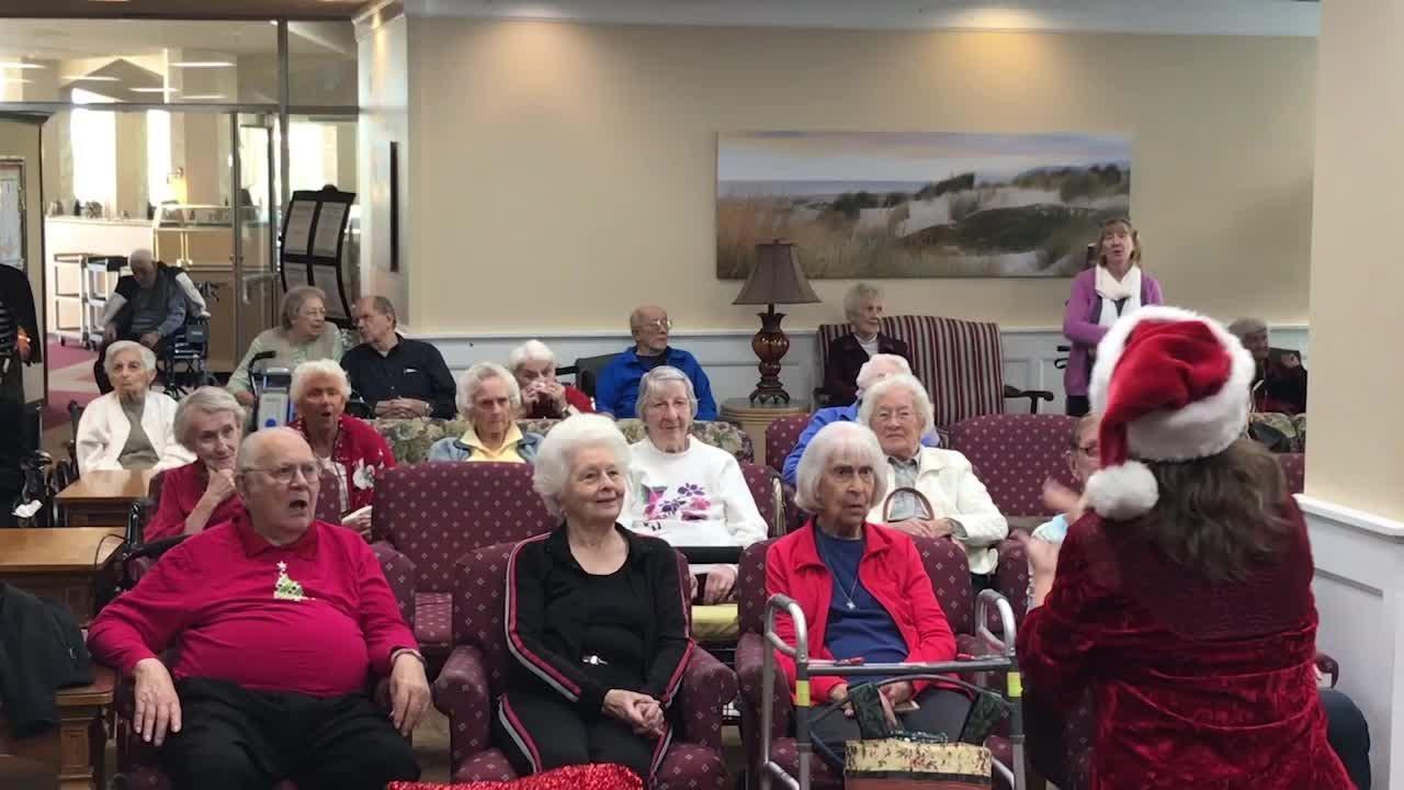The Arc of Ventura County choir is performing Christmas carols at locations across Ventura.