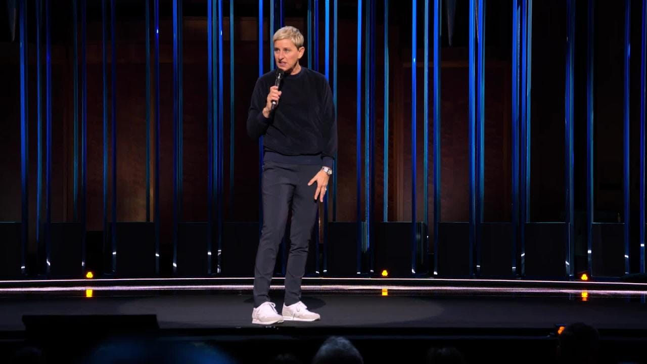 Ellen DeGeneres on Netflix stand-up special, depression battle: 'It took a  while to shake'