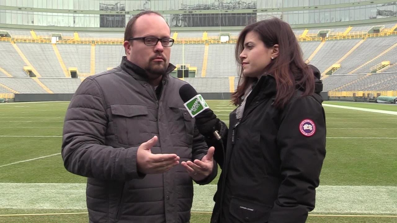 Olivia Reiner and Ryan Wood make their predictions ahead of Sunday's game against the Bears.