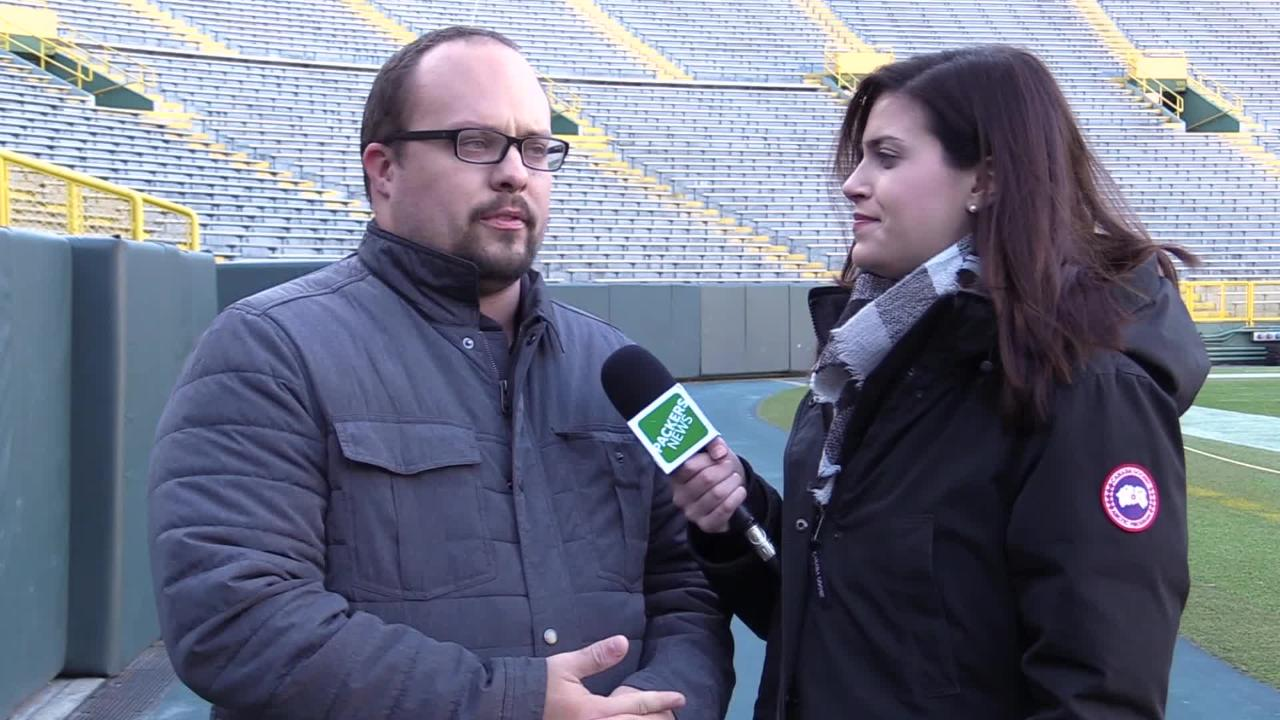 Ryan Wood and Olivia Reiner talk about the two missing members of the Packers' defense from practice this week.