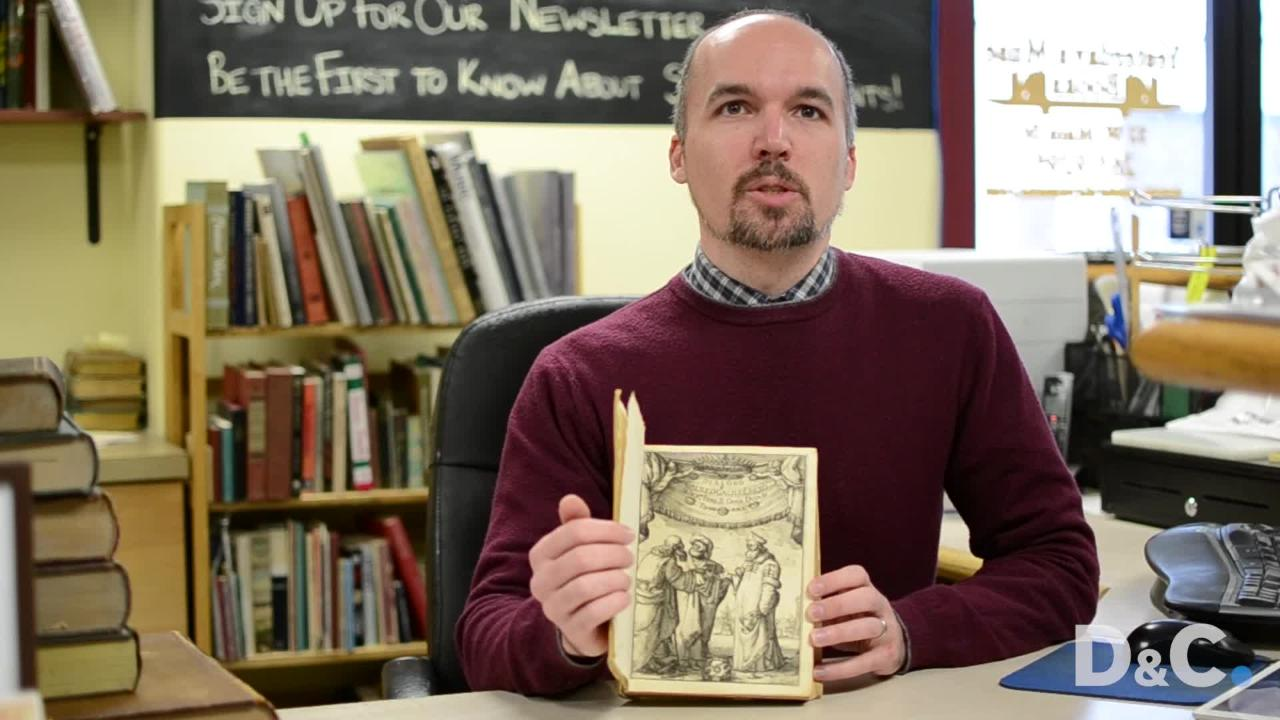 Jonathan Smalter, owner of Yesterday's Muse Books in Webster, talks about his business and what he's learned in the last decade.