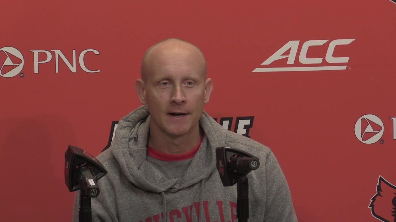 U of L basketball coach Chris Mack discusses the $3 million donation from Kuebers franchise group to expand practice facility.