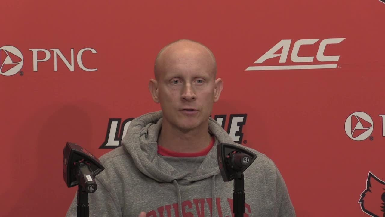 Coach Chris Mack discusses the Lipscomb game and looks ahead to Kent State at home Saturday at 4 pm.
